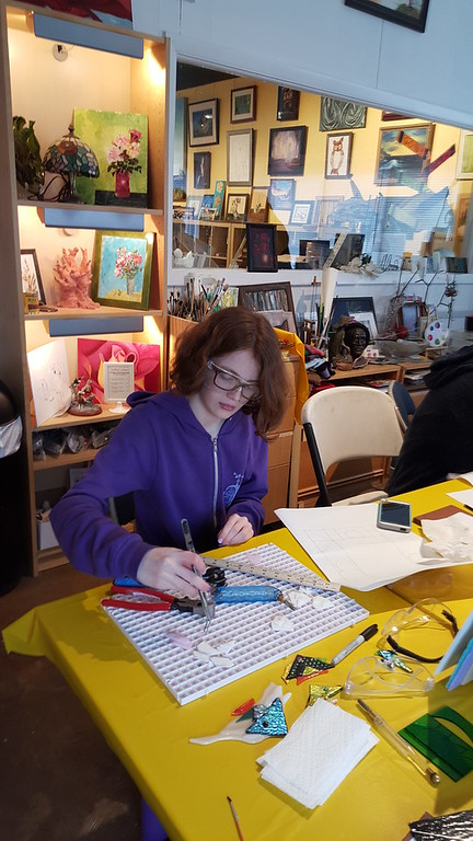 Stained Glass Project March 2016