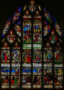 Bar-sur-Seine Church of Saint-Stephen Saint-Roche Window