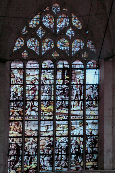 Bar-sur-Seine Church of Saint-Stephen, John the Baptist Window