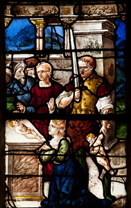 Bar-sur-Seine Church of Saint-Stephen, The Judgement of Solomon