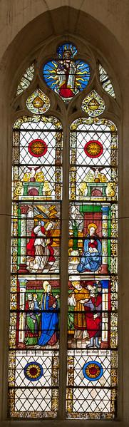 Bar-sur-Seine Church of Saint-Stephen, The Annunciation and Marriage of The Virgin