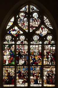 Bar-sur-Seine Church of Saint-Stephen, Daniel and the Judgement of Solomon