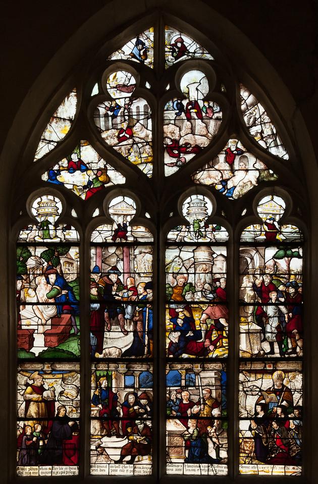 Bar-sur-Seine Church of Saint-Stephen, Daniel and the Judgement of Solomon