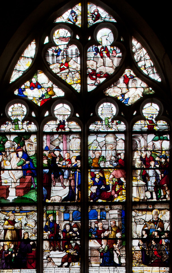 Bar-sur-Seine Church of Saint-Stephen, The Justice Window