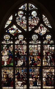 Bar-sur-Seine Church of Saint-Stephen. Daniel and the Judgment of Solomon