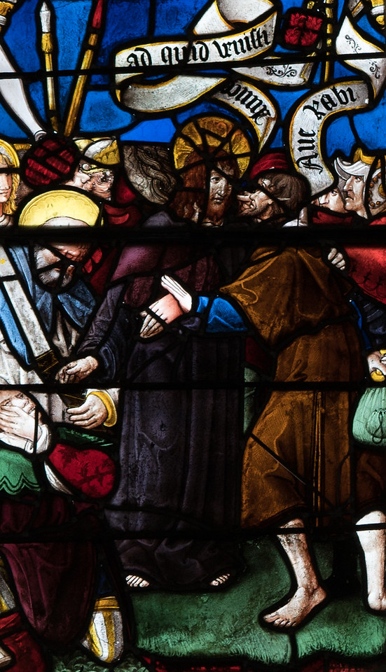 Berulle, The KIss of Judas