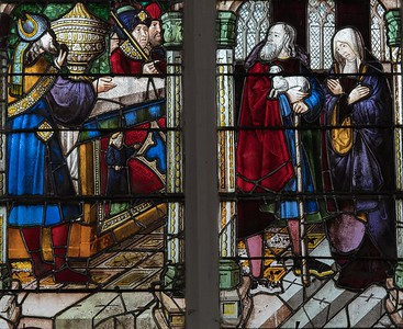 Berulle, Anna and Joachim Turned Away from the Temple