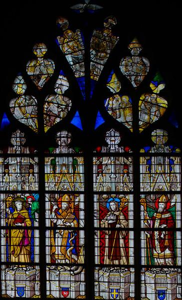 Caudebec-en-Caux - Above is the Coronation of Virgin