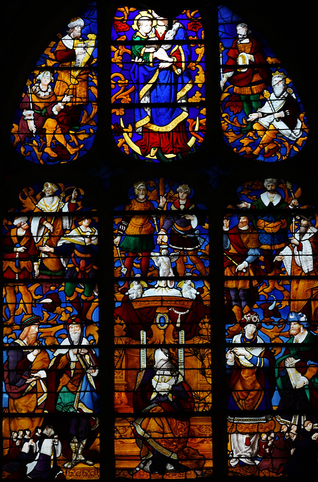 Caudebec-en-Caux - The Tree of Jesse (1532)