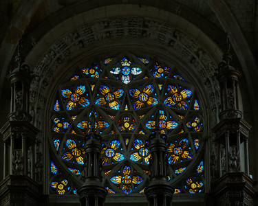 Caudebec-en-Caux - The Rose Window (1530).