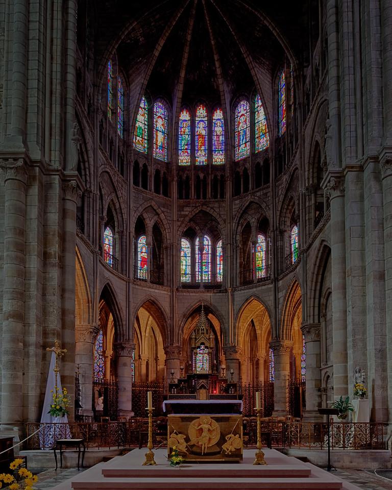 Chalons-en-Champagne , Notre Dame-en-Vaux Choir