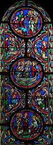 Chalons-en-Champagne , Notre Dame-en-Vaux  Lancet Window