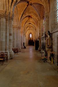 Chalons-en-Champagne , Notre Dame-en-Vaux South Aisle