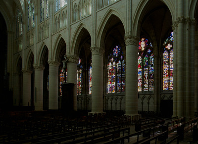 Chalons-en-Champagne Cathedral  Nave Arcade