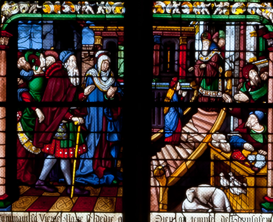 Chalons-en-Champagne Cathedral, The Virgin Entering the Temple