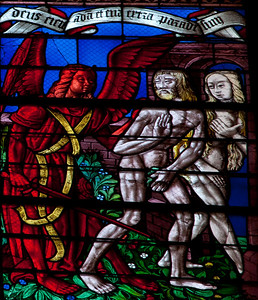 Chalons-en-Champagne Cathedral, The Expulsion of Adam and Eve