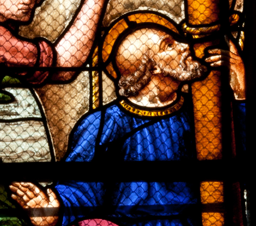 Chalons-en-Champagne Cathedral - Peter Being Called by Christ