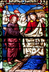 Chalons-en-Champagne Cathedral, Christ Raising the Dead