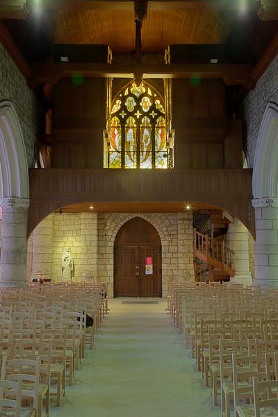 Beuzeville, Saint-Hilaire Church Entrance and Rose Window