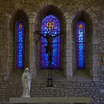 Beuzeville - Saint-Hilaire - Altar & Lancet Windows