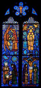 Etrepagny, Saints Gervais and Protais Church - Annunciation, Navity, Crucifixion and Coronation of The Virgin
