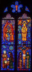 Etrapagny, Saint-Gervais-Saint-Protais Annunciation, Nativity, Crowning of The Virgin and The Crucifxion