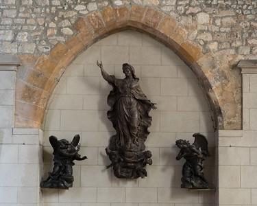 Etrepagny, Saint-Gervais and Saint-Protais - The Virgin in Glory
