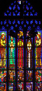 Etrapagny, Eglise Saint-Gervais-Saint-Protais Transept Window
