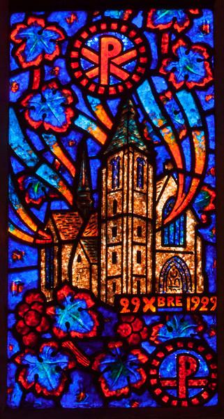 Etrapagny, Saint-Gervais-Saint-Protais Fire in the Church 1929