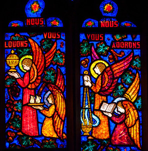 Etrapagny, Saint-Gervais-Saint-Protais Angles Blessing the Bells