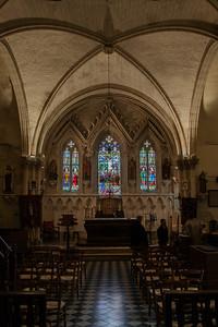 Menneval, Eglsie Saint-Pierre Altar