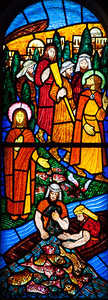 Muids, Saint-Hilaire Church Miracle of Fishes