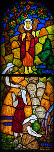 Muids, Eglise Saint-Hilaire - Parable of the Good Shepherd