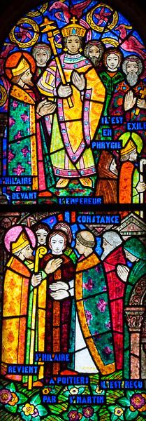 Muids, Saint-Hilaire Church,, Saint-Hilaire Before Emperor Constantine