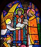 Muids, Eglise Saint-Hilaire - Sint-Hilaire with an Angel