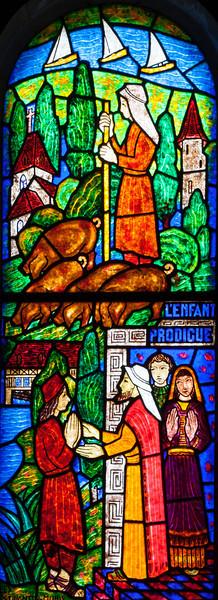 Muids, Eglise Saint-Hilaire - The Good Shepherd