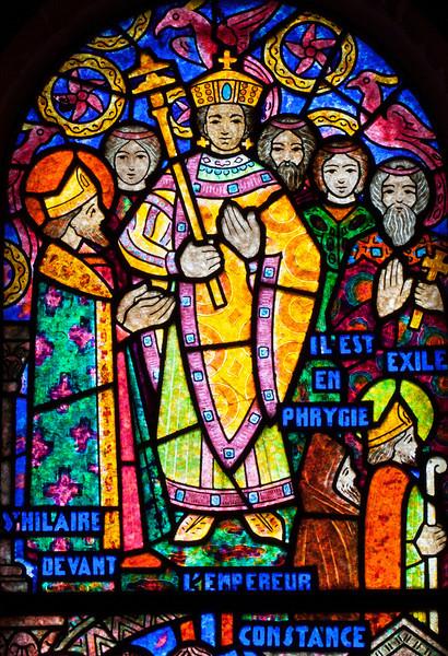Muids, Saint-Hilaire Church, Saint-Hilaire Before the Emperor Constantine