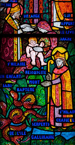 Muids, Eglise Saint-Hilaire - The Life of Saint-Hilaire Miracles