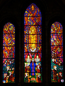Pacy-sur-Eure , Saint-Albin, The Ascension Window
