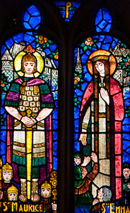 Saint-Etienne-l'Allier, Eglise Saint-Etienne - Saints Maurice and Emma