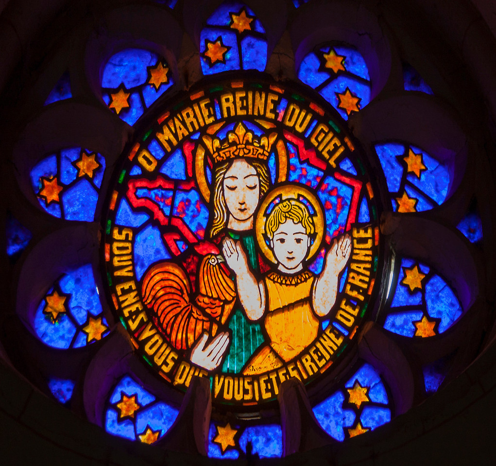 Saint-Etienne-l'Allier, Virgin and Child