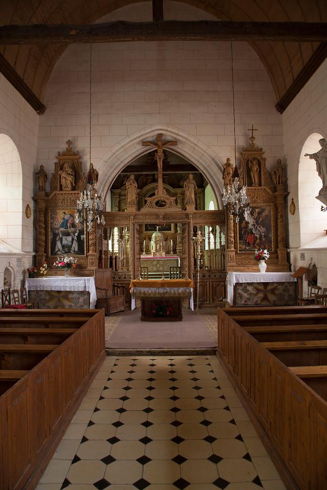 Saint-Etienne-Alliers Choir Screen