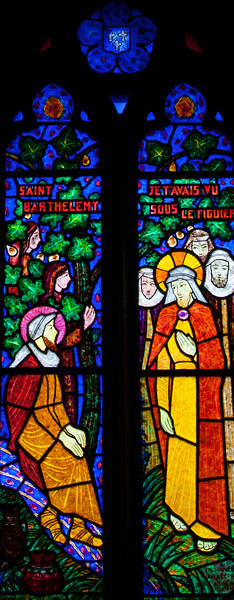 Saint-Pierre-de-Cormeilles - Christ Meeting Saint-Barthalomew