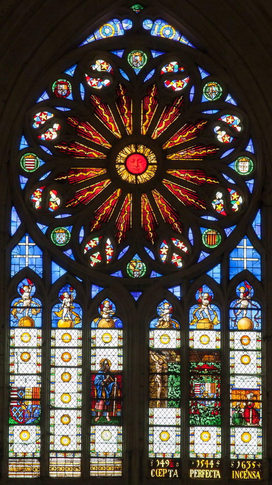 Basilica Saint-Nicholas-de Port Rose Window