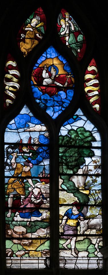 Montfort l'Aumary, The Sacrifice of Isaac