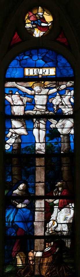 Montfort l'Aumary, Church of Saint Peter, The Crucifixion