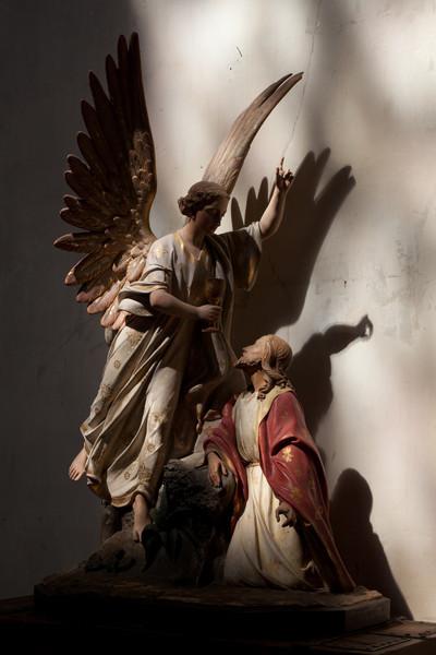 Montfort l'Amaury Michael and Christ
