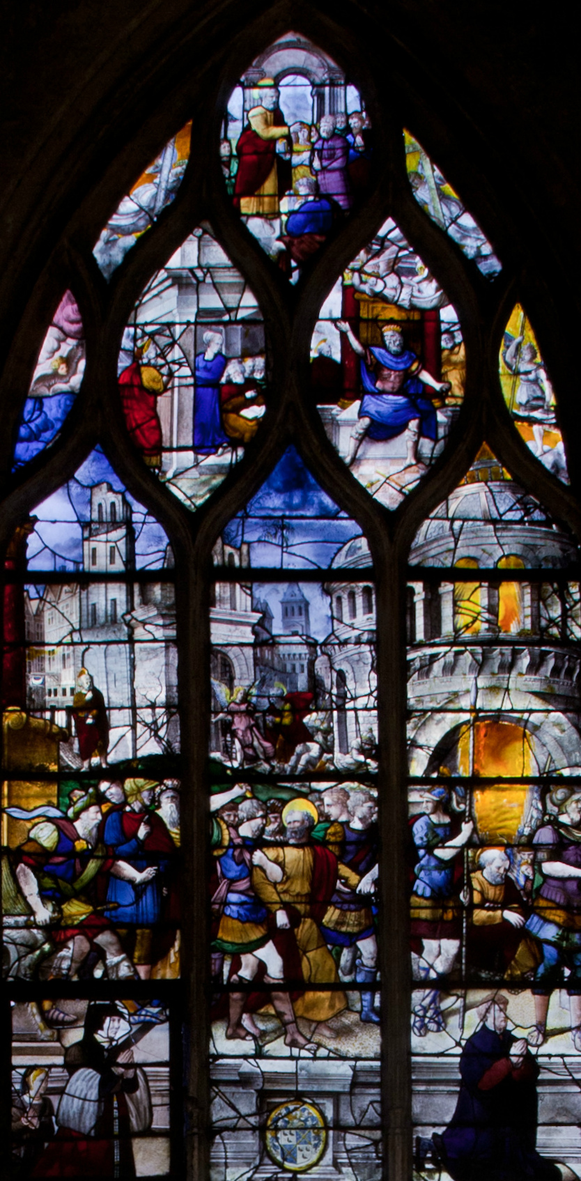 Montfort l'Amaury, The Taking of Saint Peter