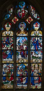 Nogent-le-Roi, Church of Saint Sulpice, Scenes from the Life of  the Mary Magdalen