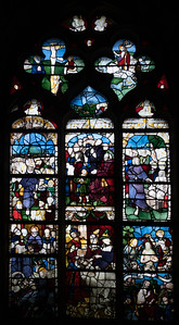 Nogent-le-Roi, Church of Saint Sulpice, Scenes of  Passion before the Crucifixion